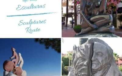 Sculpturen route Estepona