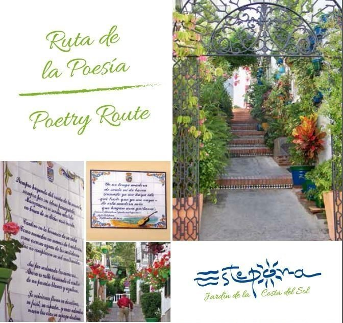 Poetry Estepona route