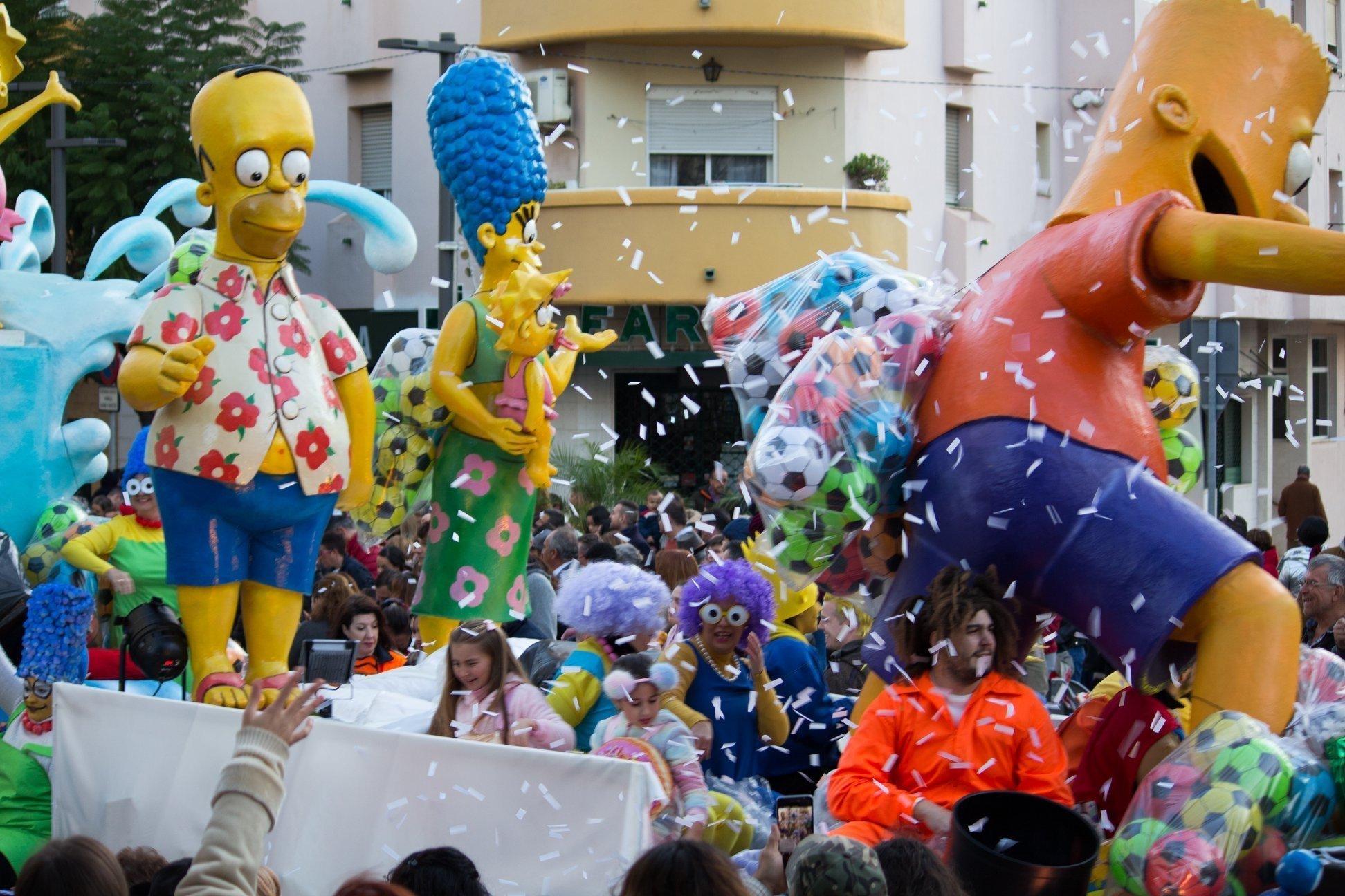 Driekoningen parade Estepona