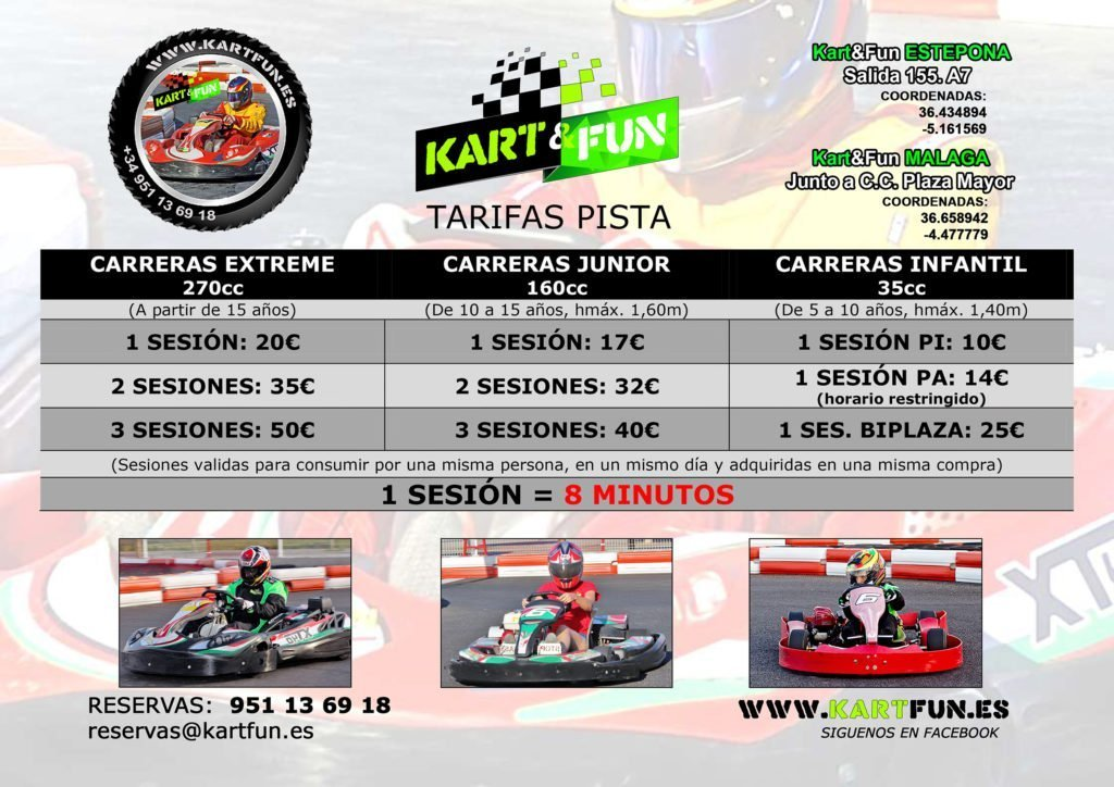 Kart Estepona prices