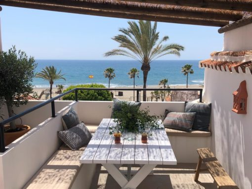 Fishermans Cottage Estepona – Renovated townhouse sea view in center