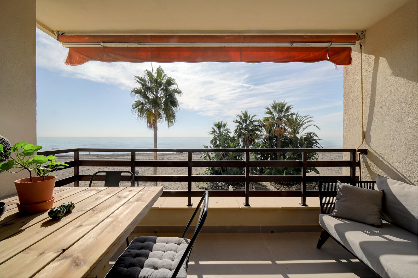 Balkon appt Madrid Estepona