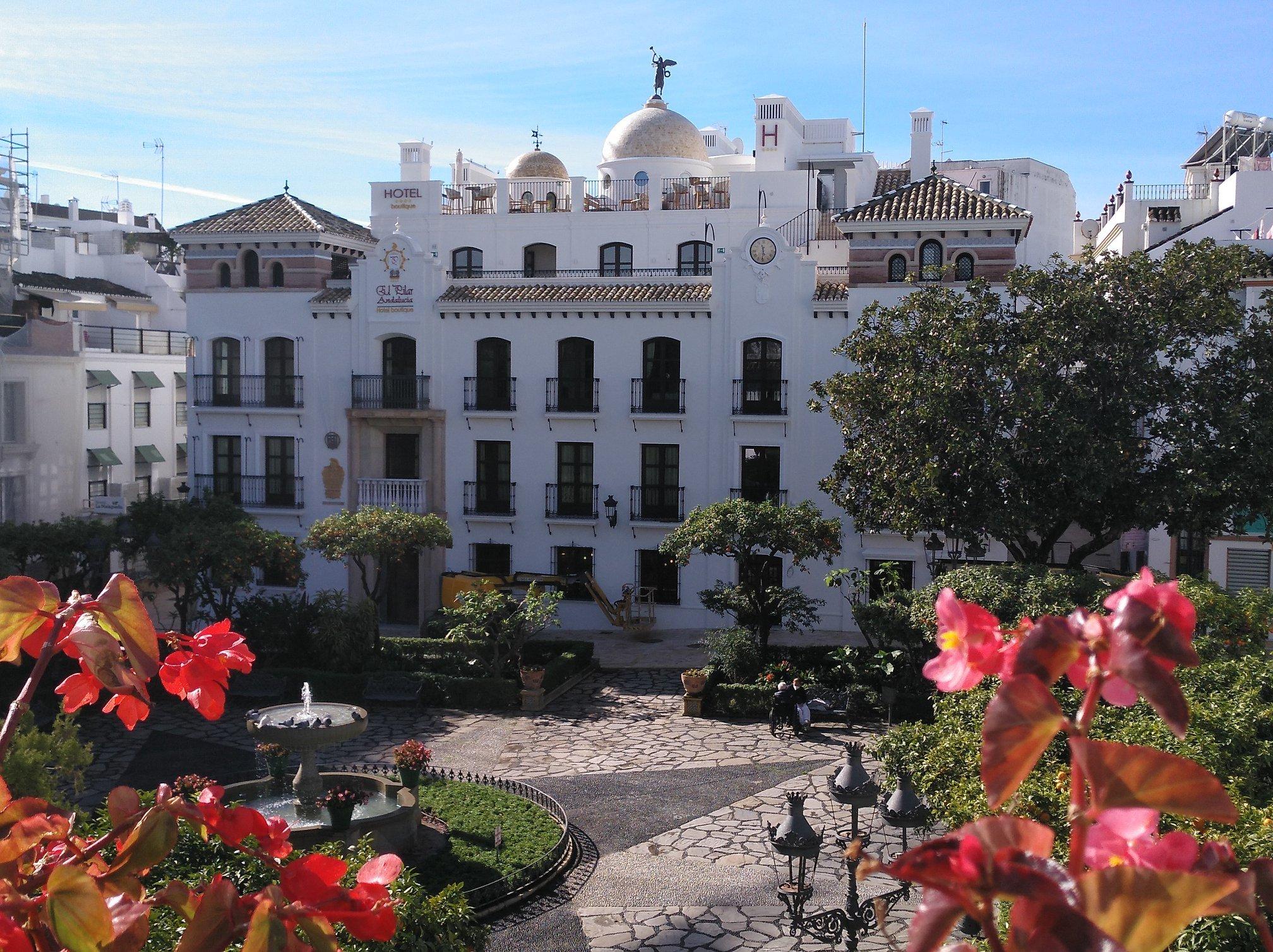 Plaza de las Flores Estepona #VistiEstepona