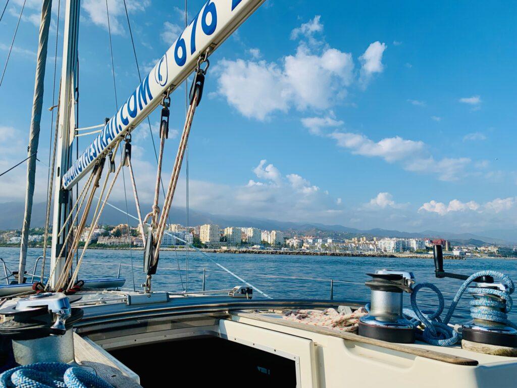 ¡Navegando en Estepona! 4