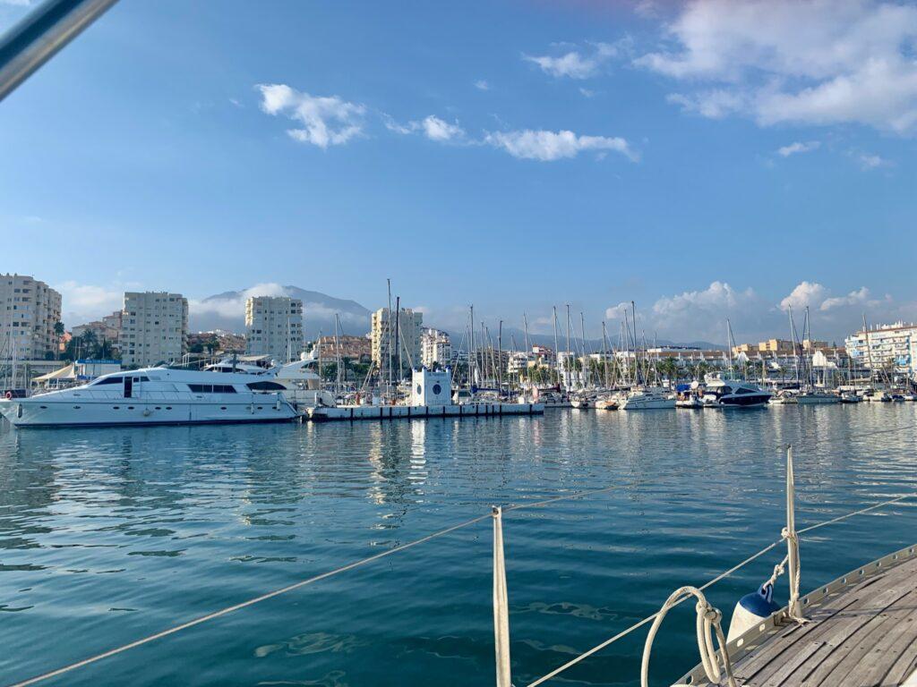 ¡Navegando en Estepona! 7