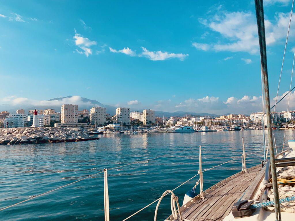 ¡Navegando en Estepona! 1